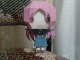 Athena Asamiya KOF XII papercraft by daigospencer