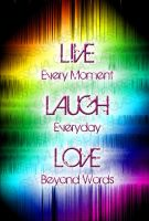 Live Love Laugh Magnet Draft by AngelElementsEtsy