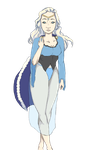W.I.P.:ice queen:. by aremp