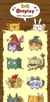 Boximals love League of Legends! by Jeffufu
