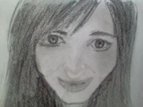 An attempt at drawing myself by edwardsminesuckers