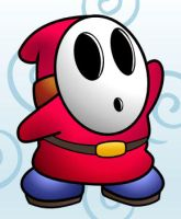 Shy Guy vector v2 by Assassin47