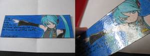 Bookmark Project Diva Arcade by Anthro7