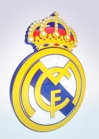 Real Madrid logo 3D by wiliam571