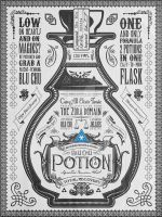 Legend of Zelda Vintage Blue Chu Potion by studiomuku
