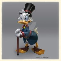 Uncle Scrooge by ChadTHX1138