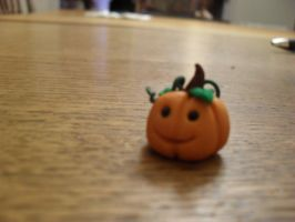 Fimo Halloween pumpkin by emilie-draw
