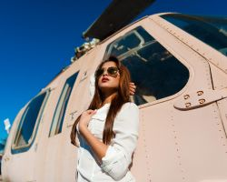 Amy at Miramar Air Museum 11 by trevor-w