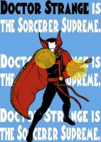 Doctor Strange by blindfaith311
