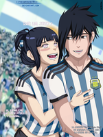 SasuHina: Fifa World Cup Brazil 2014 by IITheDarkness94II