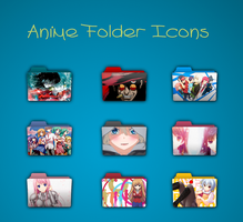 Anime Icon Pack #1 by PMazzuco