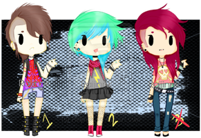 Adopts #5, #6, and #7 Punk Edition Open~ by Raijinnk