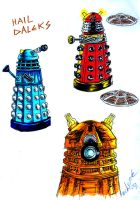 Hail Daleks by the-ChooK