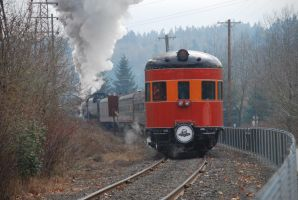 SP 2955 James J. Gilmore on the Holiday Express by TaionaFan369