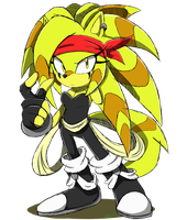 Sonic Channels: Jolt the Porcupine by Zyawaii