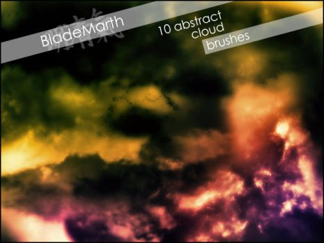 Abstract Cloud Brush Set by BladeMarth