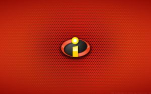 Wallpaper - The Incredibles Logo by Kalangozilla