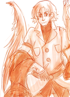 Uriel Sketch: red by Rosiana