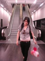 claire, escalator, tate, LDN by Din0saur