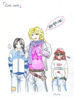 Cool guys by Rucci