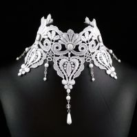 Victorian Bridal Choker by Lincey