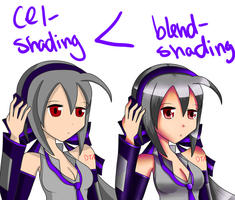 Cel is Less Than Blend by xxfangirlkillerxx