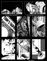 Page One of the Scratch Graphic Novel. by VladimirJazz
