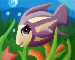 Fish Painting by HeatherIhn