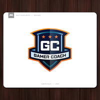 GamerCoach Logo by matthiason