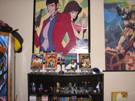 Shrine to Lupin the 3rd by FilmmakerJ