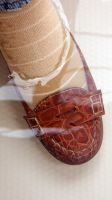 Nadia's Classic Penny Loafers Underwater by peerlesspenny