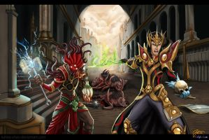 diablo 3: watch out for the tentacle guy by Veldalis