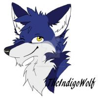 TheIndigoWolf Headshot icon by TheIndigoWolf
