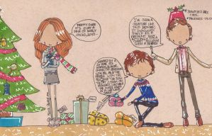 Happy Wholock Christmas by Pinkie-Perfect