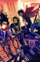 Young avengers #2 by ryuloulou