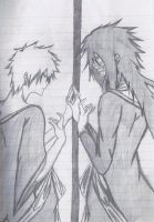 Ichigo and Mugestu- Nothing can Separate Us by KingofBeastsGrimmjow