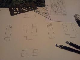 Technical Drawing-Exercise by blackbutterfly006