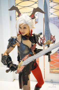 Tera Castanic cosplay by the-mirror-melts