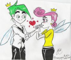 So cute- fairy love by supertoilet