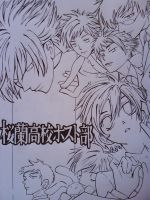 Ouran High Host Club Lineart by Law3208