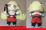 kiss-shot plushie for The anime man by Hao-007