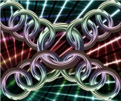 Linked Rings V.2 by Madhatterl7