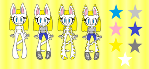 Lily the Cat and Lily the Tiger Ref and Bio by BabyBunnyBun