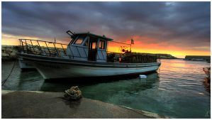 Fishing Boat by ZeeGrizzly