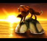 .: Thouch The Sun :. by Agelenawolf