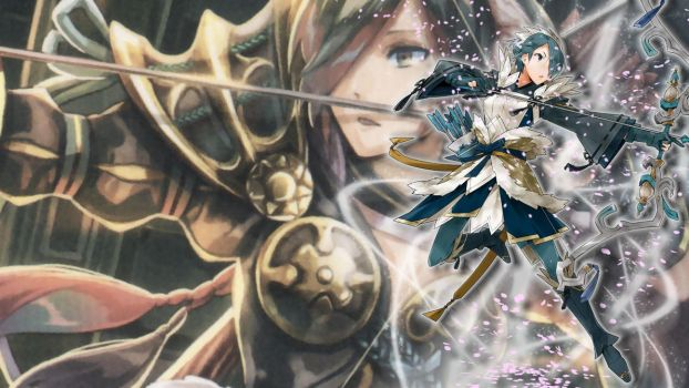 Fire Emblem Heroes Wallpaper - Setsuna by IncognitoZA
