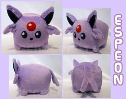 Espeon Loaf Plush by GearCraft