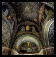 Mausoleum of Galla Placidia by rhipster