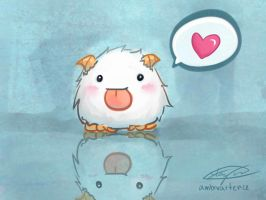 League of Legends Poro by ambivartence
