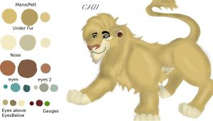 Chii Ref sheet by R3ckless4You